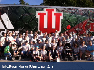 Hoosiers Outrun Cancer 2013