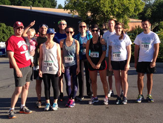 Oliver Winery 'Live Well'  Team 5K photo