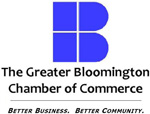 The Greater Bloomington Chamber of Commerce logo